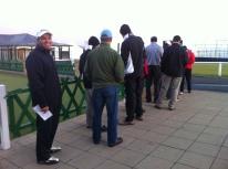 10-10-12 Neerav in line Old Course
