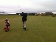 10-12-12 Neerav fairway hole 1 Old Course