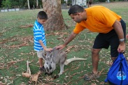 11-28-09 Aidan & Neerav kangaroo