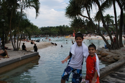 11-28-09 Nathan & Aidan city pool