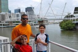11-28-09 Neerav, Nathan & Aidan bridge