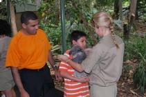 11-28-09 Neerav & Nathan releasing koala