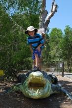 11-29-09 Croc hunter Aidan
