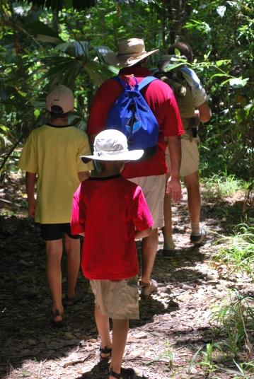 12-1-09 Boys follow Pete