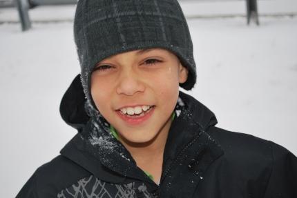 12-17-11 Aidan in snow CU