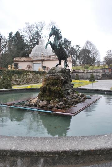 12-17-11 Horse Fountain at Mirabell Garden