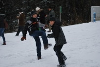 12-17-11 Nathan & Aidan snow fight
