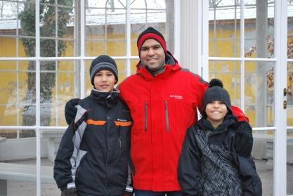 12-17-11 Nathan, Neerav, Aidan gazebo
