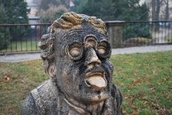 12-17-11 Statue at Mirabell Garden