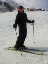 12-18-11 Michael on skiis