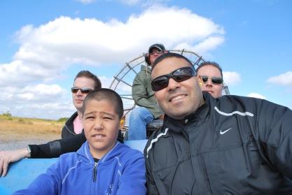 12-19-10 Nathan & Neerav boat