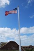 12-20-10 Flag over Fort Jefferson