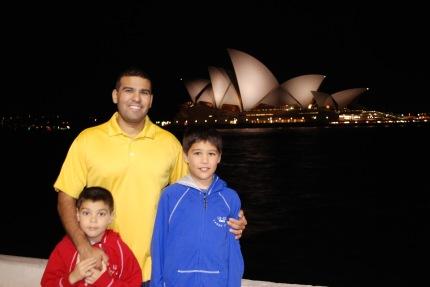 12-3-09 Aidan, Neerav & Nathan opera house night