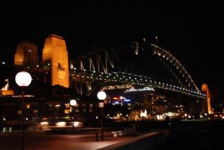12-3-09 Harbor Bridge night