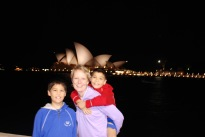 12-3-09 Nathan, Shellie & Aidan opera house night