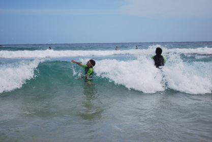 12-5-09 Aidan in big wave