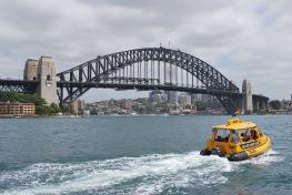 12-5-09 Harbor Bridge with water taxi