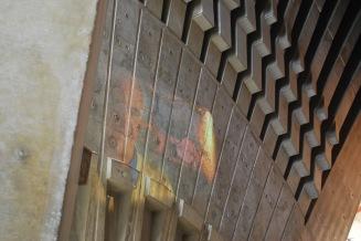 12-5-09 Interior wall Utzen projection