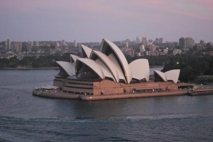 12-5-09 Opera house sunset