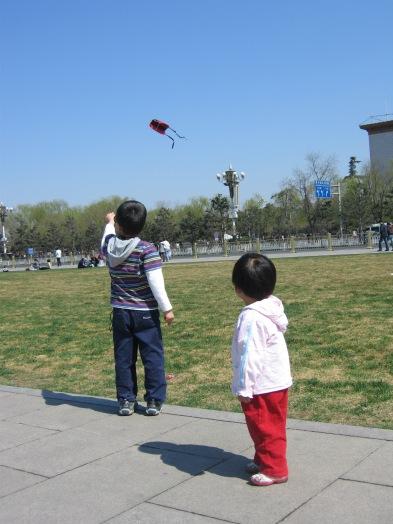 3-23 Aidan kite Chinese girl watches