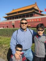 3-23 Boys Tian'an Men Gate CU