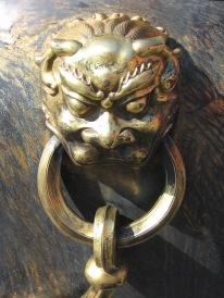 3-23 Bronze cauldron dragon