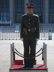 3-23 Mao's guard