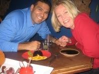 3-26 Neerav & Shellie Thai bday dinner