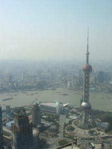 3-26 Shanghai skyline vertical