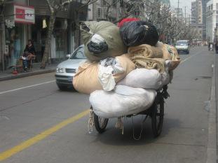 3-27 Loaded bike cart