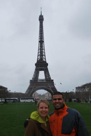 3-28-10 Shellie & Neerav Tour Eiffel