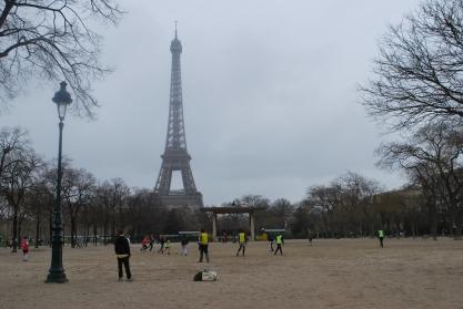 3-28-10 Soccer under Tour Eiffel