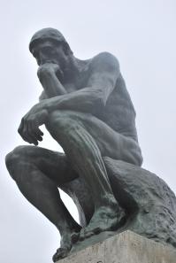 3-28-10 The Thinker Musee Rodin CU