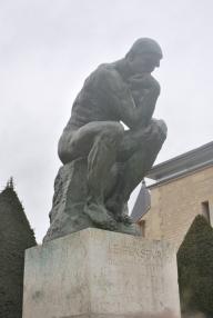 3-28-10 The Thinker Musee Rodin