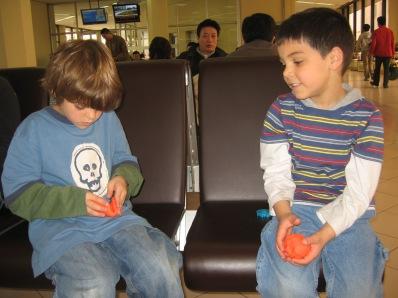 3-28 Truman, Aidan playdoh airport