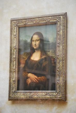 3-29-10 Mona Lisa framed