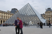 3-29-10 Neerav & Shellie pyramid Louvre