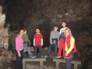 3-29 Erin, Shellie, boys cave