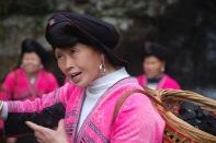 3-30 CU Yao woman talking