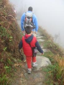 3-30 Neerav, Aidan hike