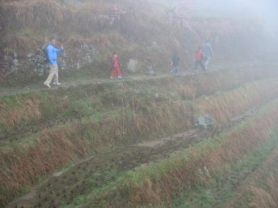 3-30 Neerav, Mo & boys hike