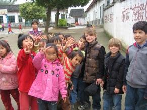 3-31 Boys with schoolgirls