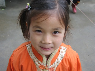 3-31 Girl orange jacket