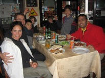 3-31 Group last dinner