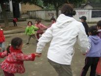 3-31 Kids playing ring-around-the-rosie