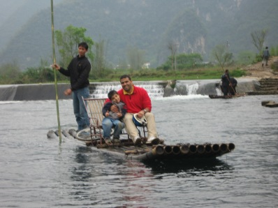 3-31 Neerav & Aidan raft