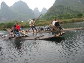 3-31 Rafts side by side