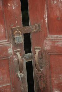 3-31 Rusted red door