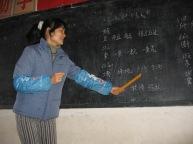 3-31 Teacher at blackboard
