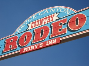 7-19 Rodeo sign